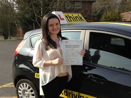driving lessons Harrow Kate mundle think driving school