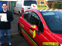 Jessica bracknell happy driving school lesson learner