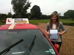 rachel petersfield  happy with think driving school