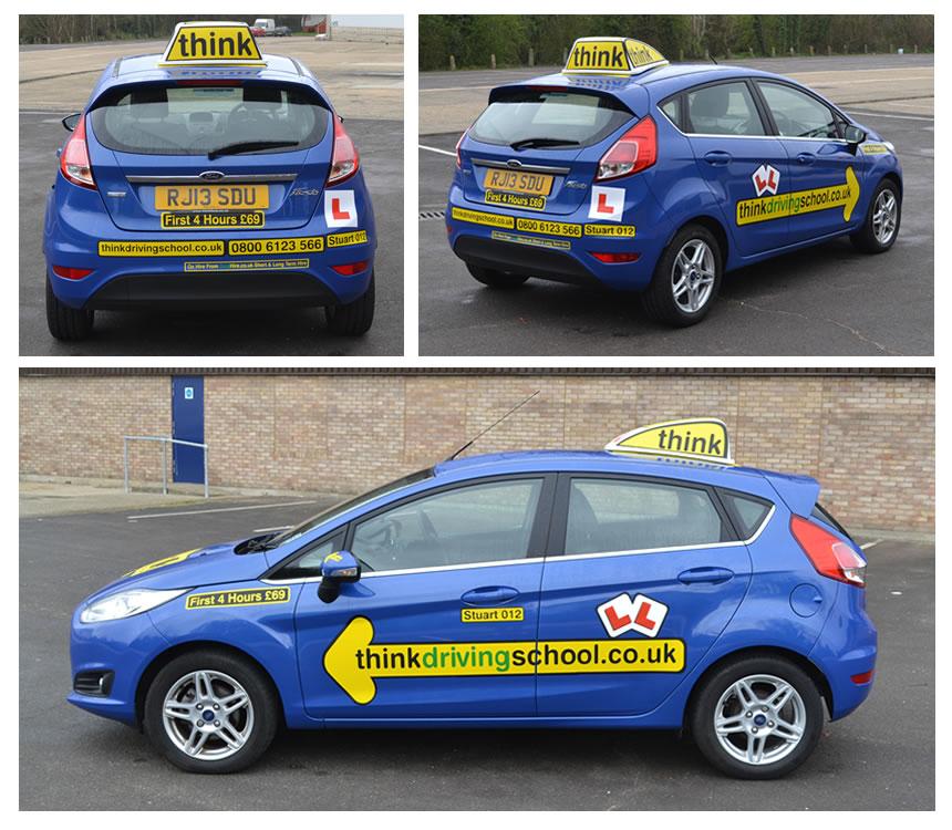 Think Driving School Stuart Webb ADI Farnham For Driving