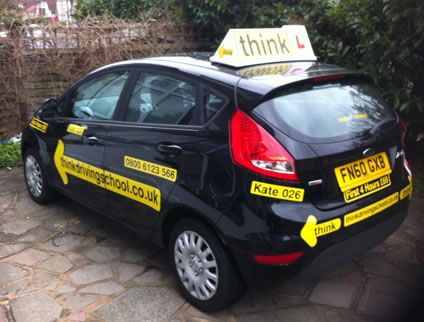 driving lessons Eastcote Kate think driving school