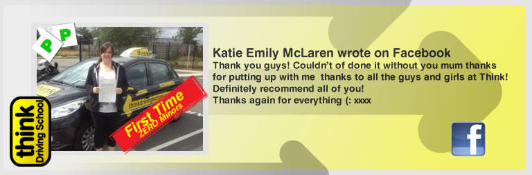 kaylee may ayresy left this awseom think driving school review and she loves wendy mclaren