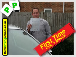 passed after drivng lessons in farnborough with martin hurley