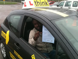 Lolo Guildford happy with think driving school