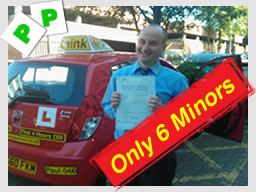 Richard from St Albans passed after driving lessons Ruislip Paul Power think driving school