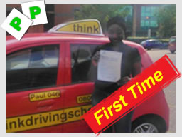 Liam from St Albans  passed after driving lessons paul power from watford think driving school