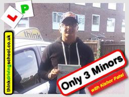 Passed with think driving school in September 2016