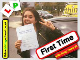 Passed with think driving school in October 2016