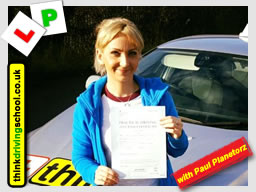 Passed with think driving school in December 2016