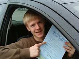 james guildford  happy with think driving school
