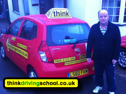 Hemel Hempstead drivng instructor paul paower who does driving lessons for think driving school