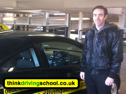 driving instructor in chertsey jamie cole