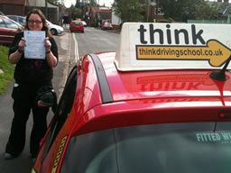 jenifer petersfield  happy with think driving school