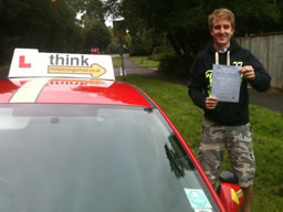joe bordon happy with think driving school