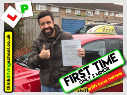 driving lessons bracknell Simon Foote ADI