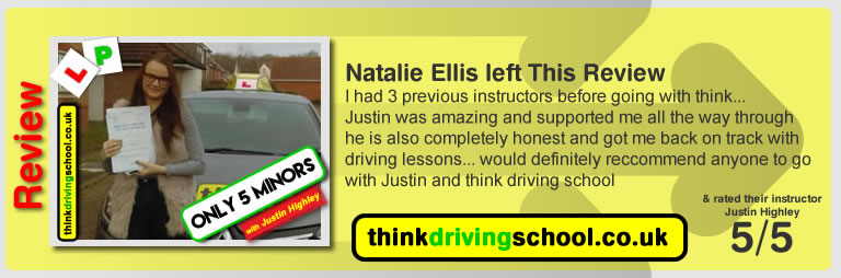 happy learner  left this awesome review after she passed after drivng lessons in farnborough with Jay Highley