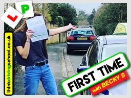 Passed with think driving school in March 2018 and left this 5 star review
