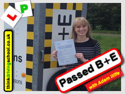 Passed with think driving school in May 2016
