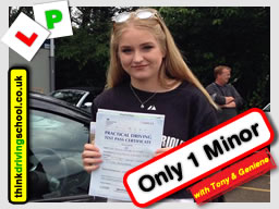 Passed with think driving school in July 2016