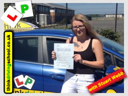 Passed with think driving school in August 2016