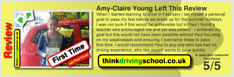 Amy-Claire Young left this awesome review