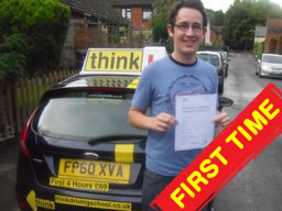 Jack guildford happy with think driving school
