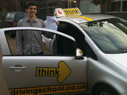 ned liss  happy with think driving school