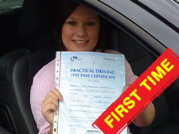 marie guildford happy with think driving school