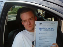 joseph guildford  happy with think driving school