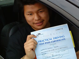 pratap guildford  happy with think driving school