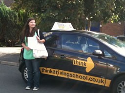 abby yatley  happy with think driving school