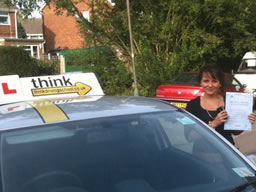 emma bordon happy with think driving school