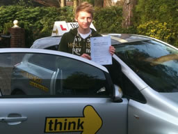 aaron headley down  happy with think driving school