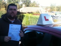 alan liss  happy with think driving school