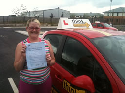 charmain bordon happy with think driving school