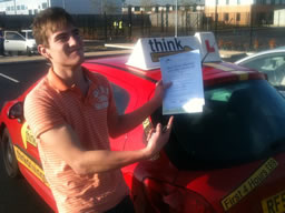 dan bordon happy with think driving school