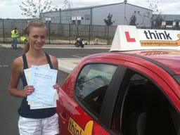 gemma bordon happy with think driving school