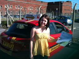 kathryn liss  happy with think driving school