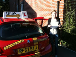 kerry bordon happy with think driving school