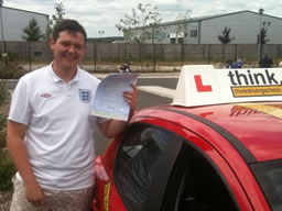 scott bordon happy with think driving school