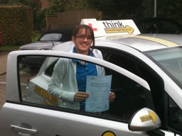 megan beacon hill  happy with think driving school