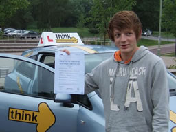 micheal bordon happy with think driving school