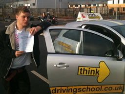 stuart grayshot  happy with think driving school
