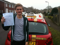 bordon happy with think driving school