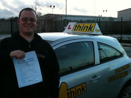 russ farnham  happy with think driving school