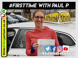 Passed with think driving school in November 2018 and left this 5 star review