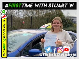 Passed with think driving school in December 2019 and left this 5 star review