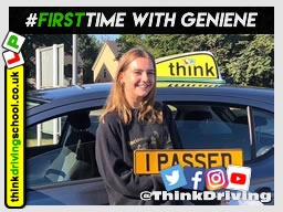 Passed with think driving school August 2020 and left this 5 star review