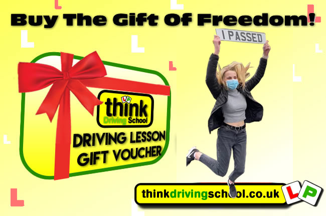 Driving Lesson Gift Vouchers Perfect christmas and birthday gift idea