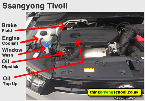 Show me tell me questions Ssangyong Tivoli